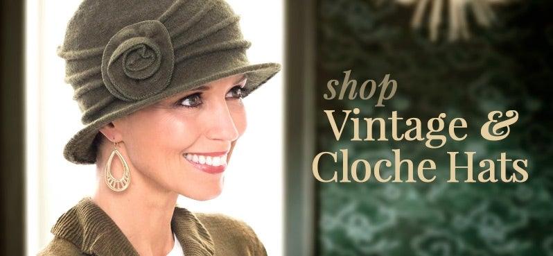 135746c52b1f4 Cloche Hats | Vintage Women's Hats