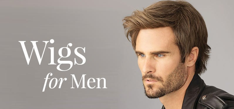 Wigs for Men | Mens Hair Pieces | Headcovers