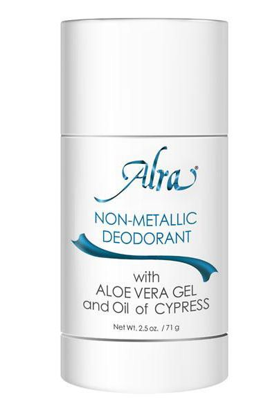 Alra Non-Metallic Deodorant for Radiation and Chemotherapy Patients |