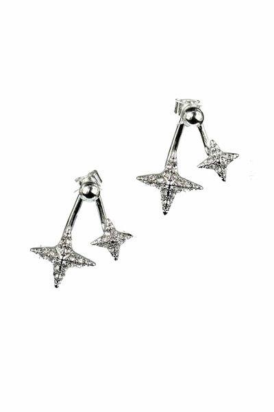 Starry Ear Jackets | Nickel & Lead Free Earring Set |