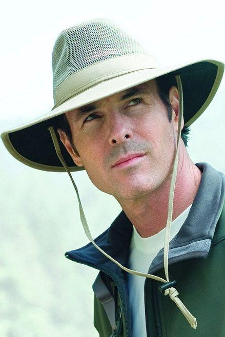 Mens Solarweave Safari Hat