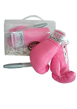 Fight Like A Woman - Autographable Boxing Gloves