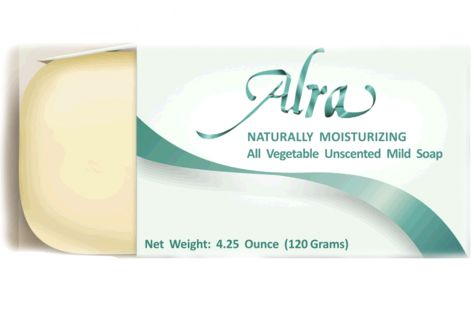 Alra Naturally Moisturizing All Vegetable Unscented Mild Soap | As Pictured