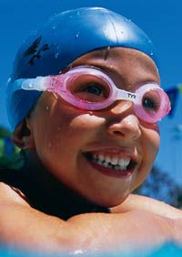 TYR Swimple Swim Goggles for Children