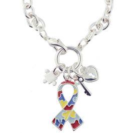 Autism Awareness Puzzle Piece Bracelet Adult Size Americas /& Americas