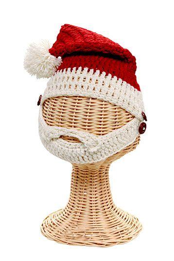 Santa Beard Hat for Toddlers 1-2T |