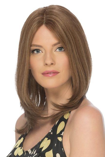 Celine by Estetica Designs Wigs - Remi Human Hair, Mono Top, Hand Tied Wig