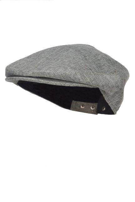Linen Driver Cap for Men