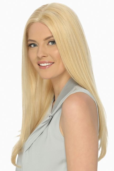 Victoria Front Lace Line Wig by Estetica Designs Wigs - Remi Human Hair, Front Lace Line, Mono Top, Hand Tied Wig