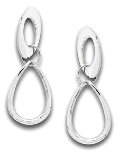 Stainless Surgical Steel Earrings | Bold Double Drop Statement Earrings