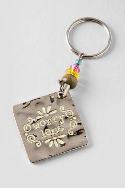Inspirational Metal Keychain