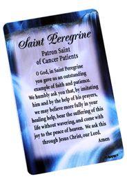 Saint Peregrine - Saint of Cancer Patients Card |