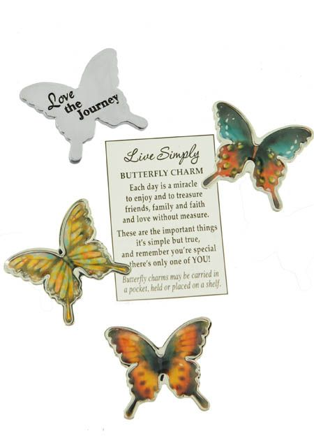 Butterfly Pocket Tokens