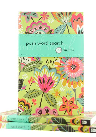 Posh Word Search - 100 Puzzles Book