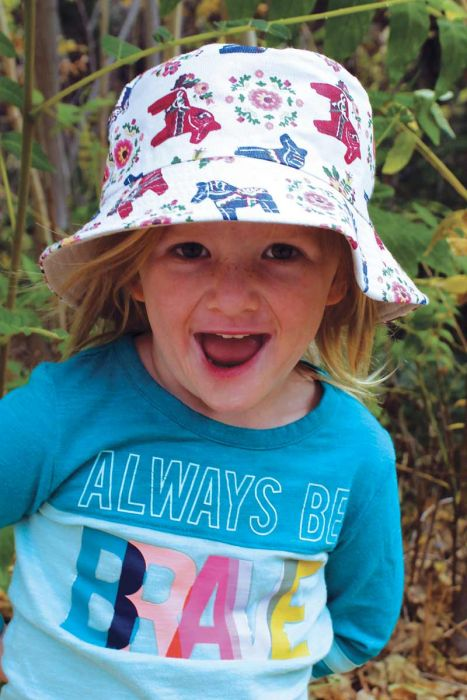 Reversible Bucket Hat for Girls