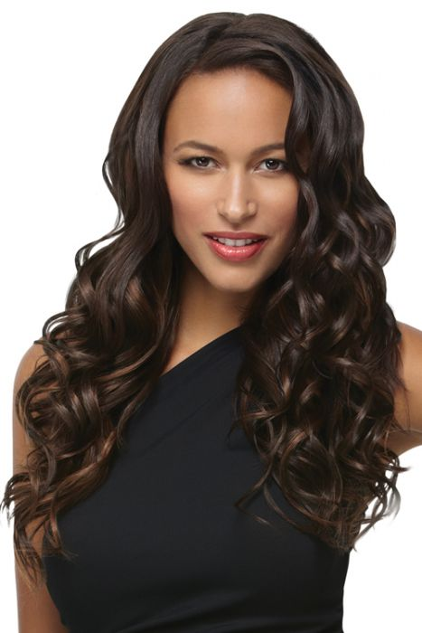 "18 Inch Hair Extensions | 18"" Wavy Extension 8 Piece Kit by Hairdo"
