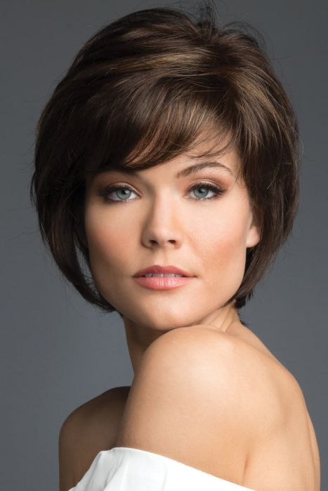 Georgina by Revlon Wigs - Monofilament Top, Lace Front Wig