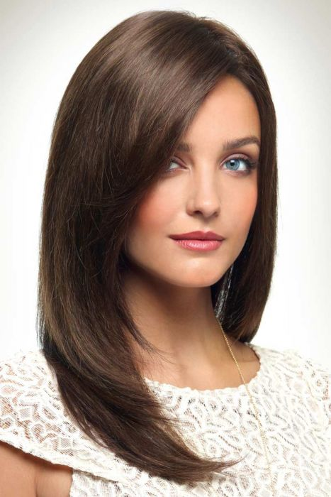 Lily by Revlon Wigs - Human Hair, Monofilament Wig