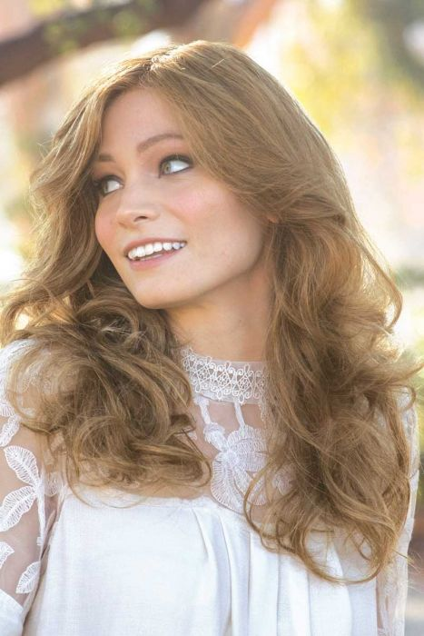 Charlotte (Wavy) by Amore / Rene of Paris Wigs - Human Hair, Lace Front, Monofilament Top Wigs
