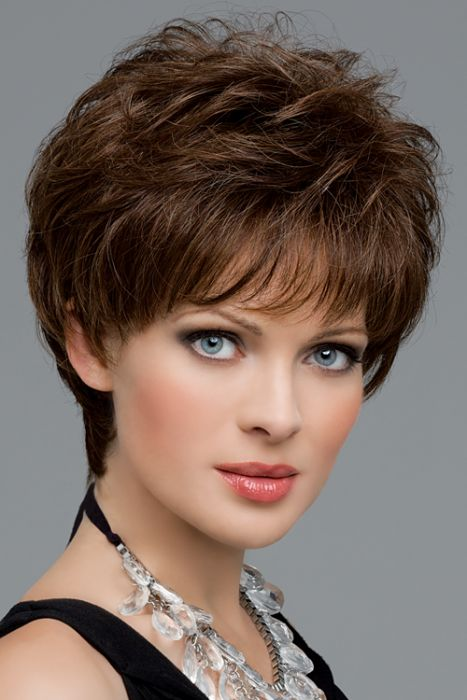 Aubrey by Envy Wigs - Monofilament, Hand Tied, Human Hair, Synthetic Blend Wig