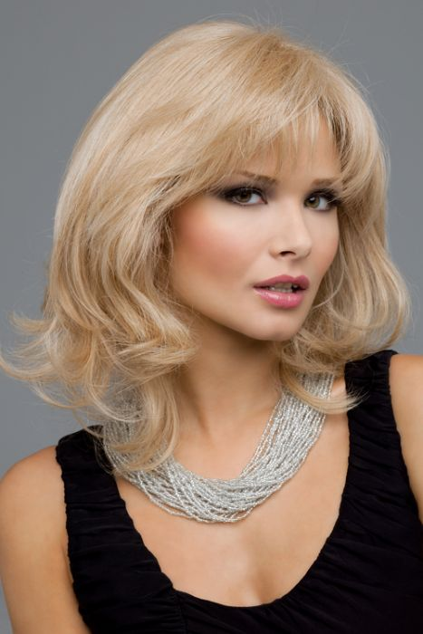 Danielle by Envy Wigs - Monofilament, Lace Front, Human Hair, Synthetic Blend Wig