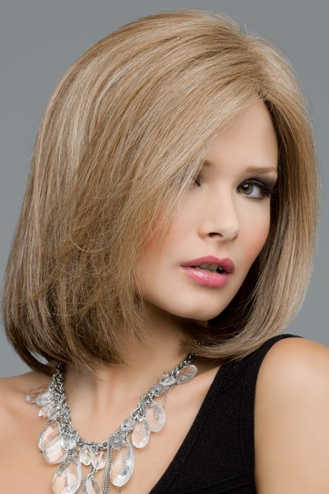 Lynsey by Envy Wigs - Monofilament, Lace Front, Human Hair, Synthetic Blend Wig