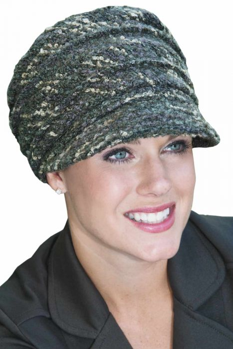 Accordion Newsboy Cap | Winter Hats for Women