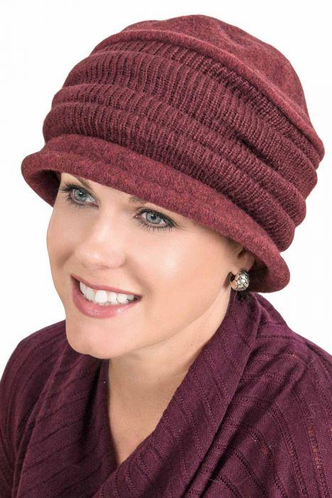 Adalyn Accordion Hat - Wool Winter Hats for Women