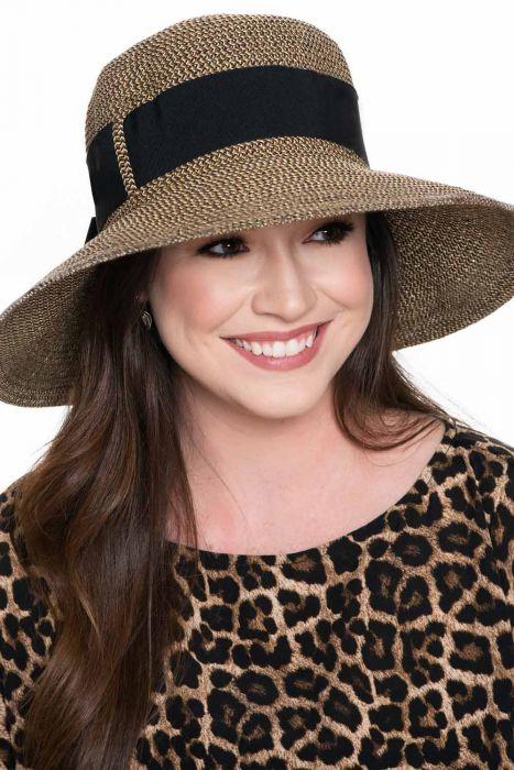 Aileen Chiffon Ribbon Sun Hat | Spring and Summer Hats for Women