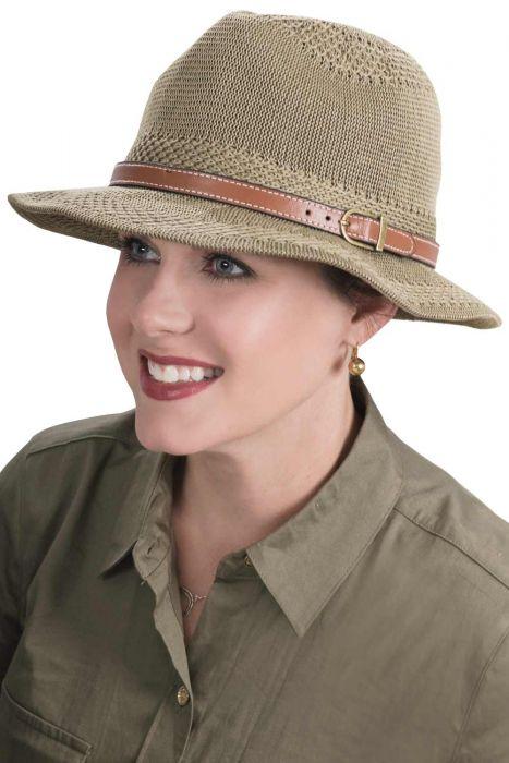 Alaina Fedora Hat | Soft Summer Hat for Women