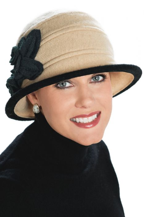 Wool Eliza Cloche Hat
