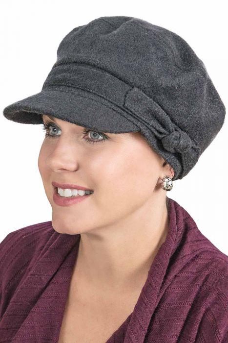 Allie Cadet Hat - Wool Fall and Winter Newsboy Cap for Women