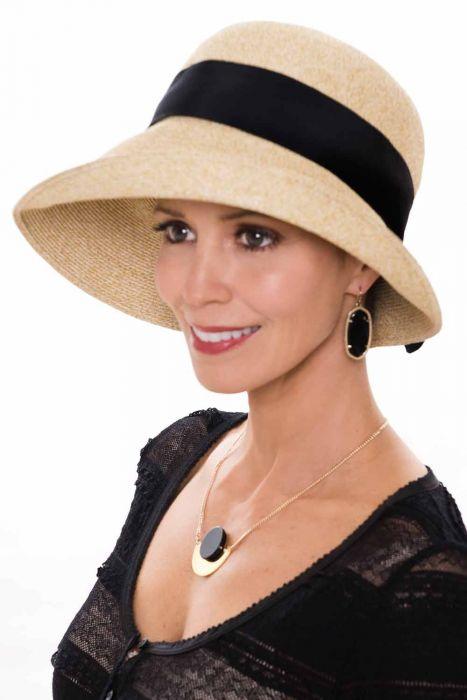 Arabella Asymmetrical Sun Hat | UPF 50+