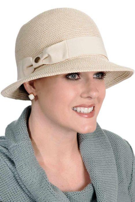 Asymmetrical Cloche Hat | Summer Hats for Women