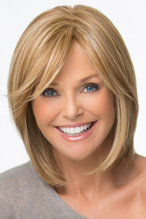 Attention Getter by Christie Brinkley Wigs - Monofilament Part Wig
