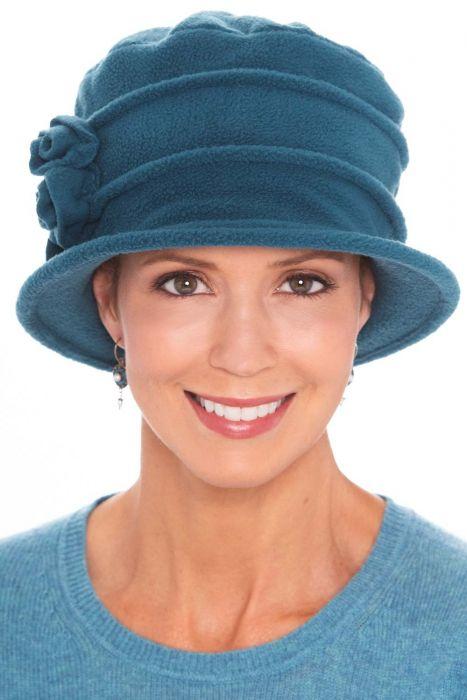 Aurora Polar Fleece Cloche Hat   Winter Hats for Women