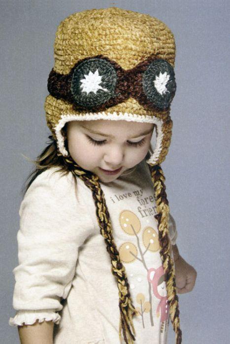 Chenille Aviator Hat