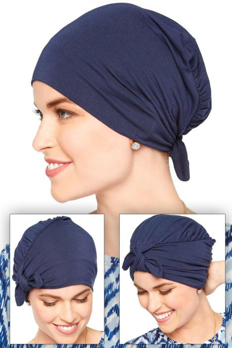 Three in One Vintage Hat | Cardani Viscose from Bamboo Headcovering