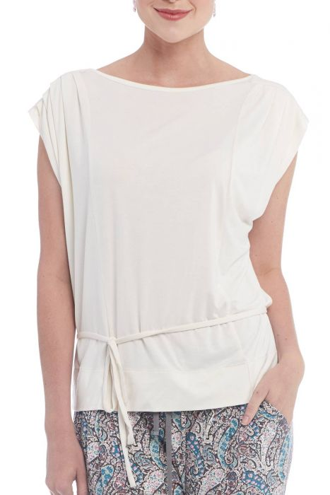 Cardani Katinka Blouse   Viscose from Bamboo T-Shirt Clothing Top