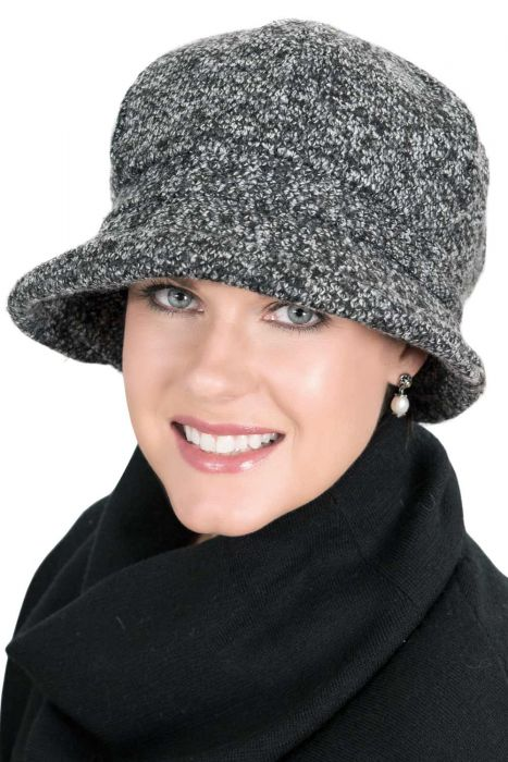 Basic Boucle Cloche Hat - Fall and Winter Hats for Women