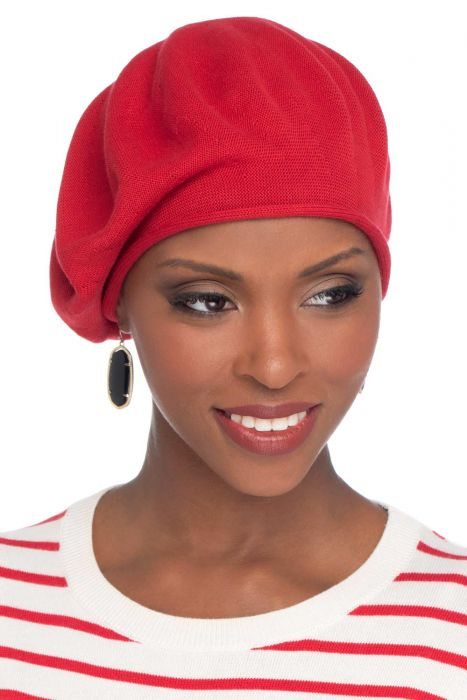 100% Cotton Basic Beret | Knitted Berets for Women