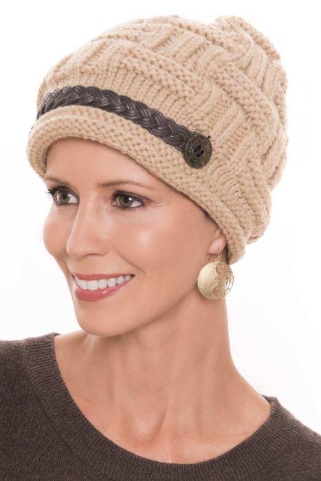 Basket Weave Braid Beanie Hat | Cute Beanie Cap for Women