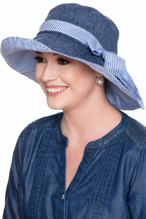 Bexley Striped Sun Hat | Spring and Summer Hats for Women |
