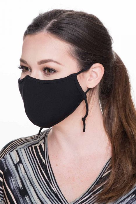 Size LARGE | Bamboo Face Mask with Filter Pocket | Coronavirus Medical & Surgical Face Mask Cover