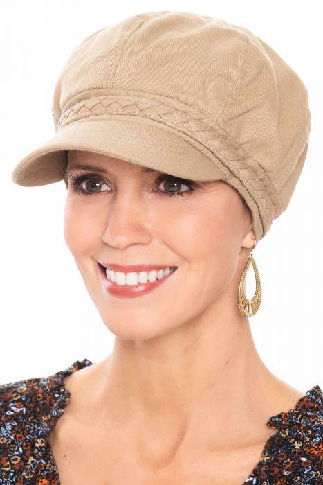 Braided Band Newsboy Cap | Summer Hats for Women |