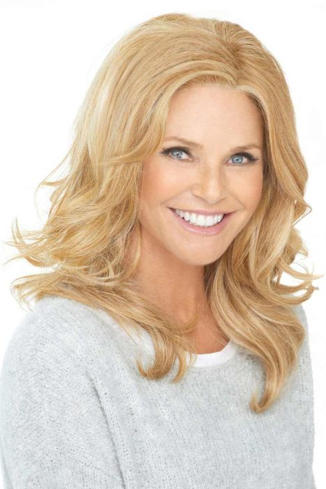 Call Back by Christie Brinkley Wigs - Monofilament Part, Lace Front Wig