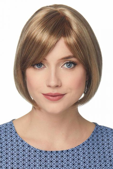 Anna by Cardani Wigs | Bob Wig With Bangs | Double Monofilament Top