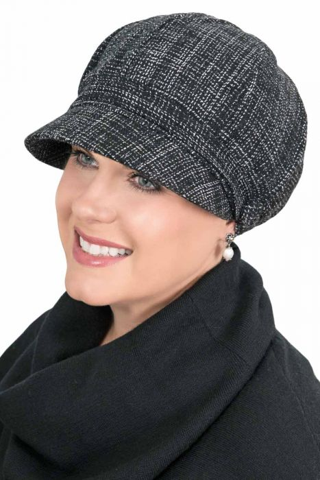 Carly Topper Newsboy Hat - Wool Fall and Winter Hats for Women