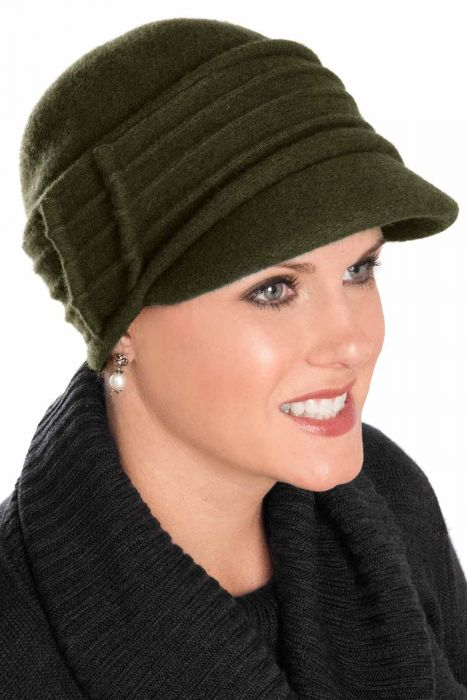 Caroline Newsboy Hat - Wool Winter Hats for Women