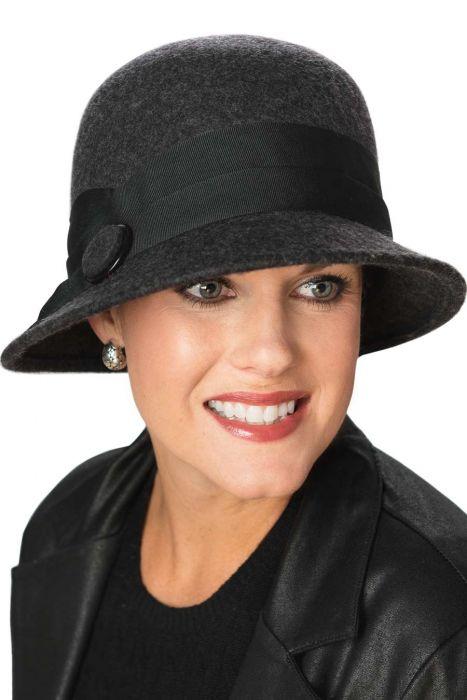 Colette Cloche Hat - Wool Hats for Women  